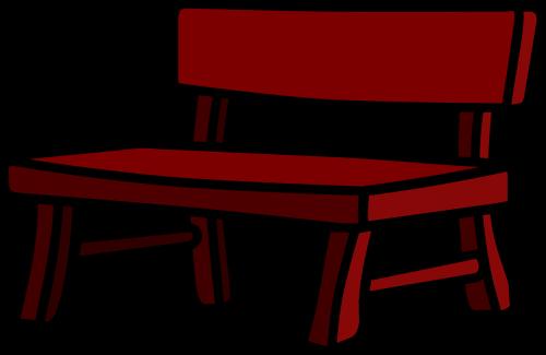 Kunststoff Bänke, Sitzmöglichkeiten