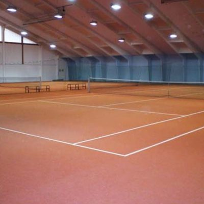 2 Feld Tennishalle in Passau mit Tennis Force HS